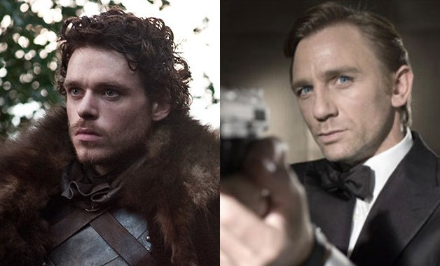 James Bond Richard Madden Daniel Craig