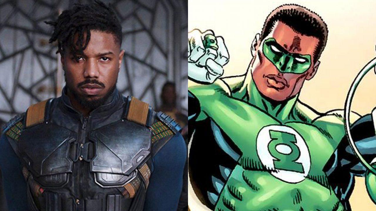 See Michael B Jordan Suited Up As Green Lantern John Stewart