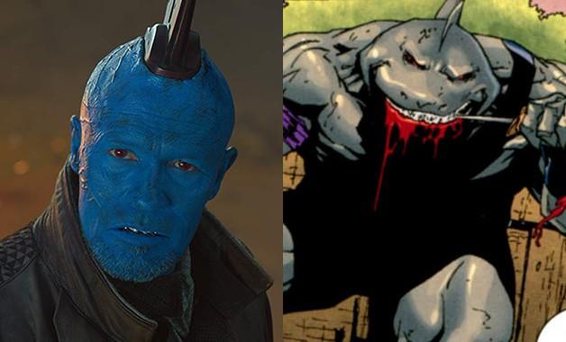 Michael Rooker King Shark Suicide Squad James Gunn