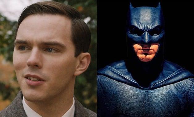 Nicholas Hoult Ben Affleck Batman