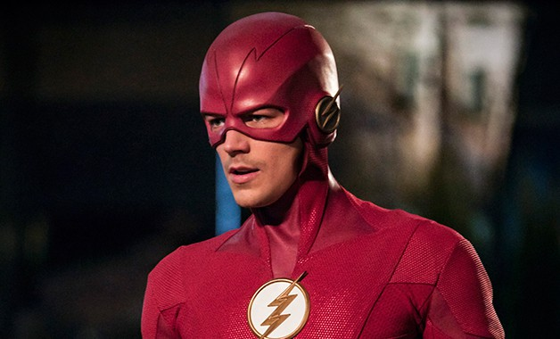 The Flash Grant Gustin DC Eoabard Thawne John Wesley Shipp