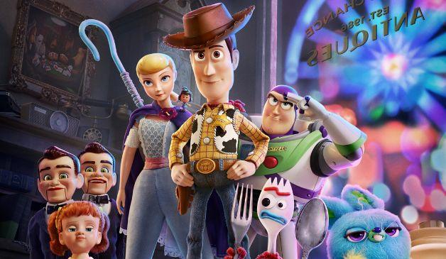 Toy Story 4 Pixar forcado