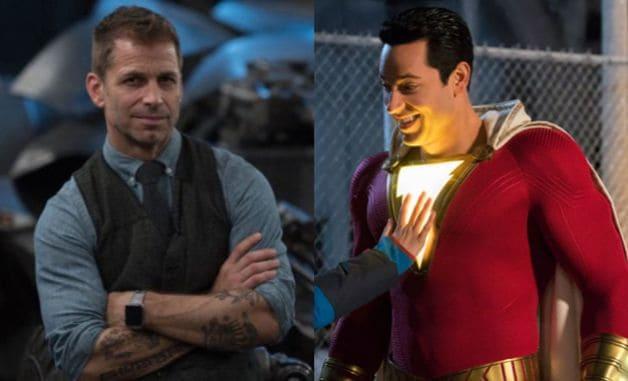 Zack Snyder Justice League DC Zachary Levi Shazam David F. Sandberg Justice League