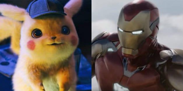 Avengers Endgame Pokemon Detective Pikachu