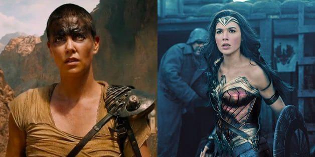 Charlize Theron Gal Gadot Wonder Woman