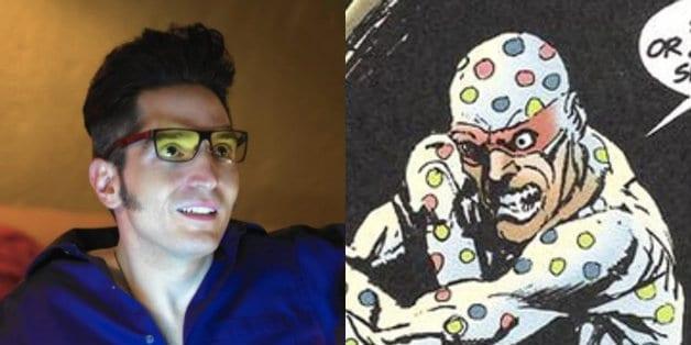 James Gunn The Suicide Squad David Dastmalchian Polka-Dot Man