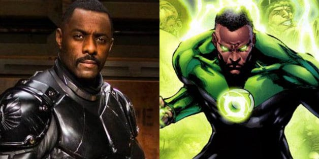 Green Lantern Idris Elba