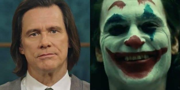 Jim Carrey Joaquin Phoenix Joker