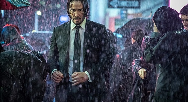 John Wick 3 Hero Shot keanu Reeves
