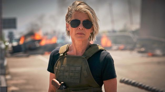 Sarah Connor Is Front and Centre of New Terminator: Dark Fate Poster