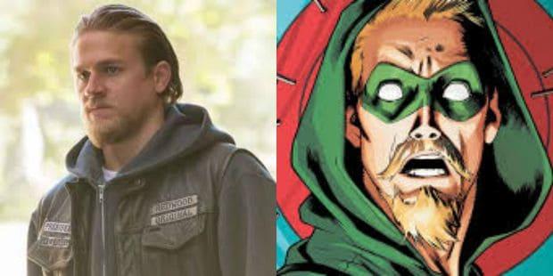Charlie Hunnam Green Arrow DCEU