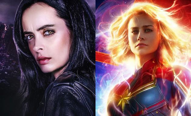 Jessica Jones Captain Marvel Krysten Ritter