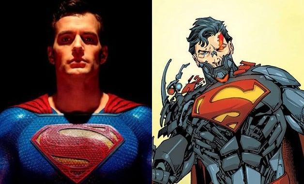 Justice League Henry Cavill Cyborg Superman