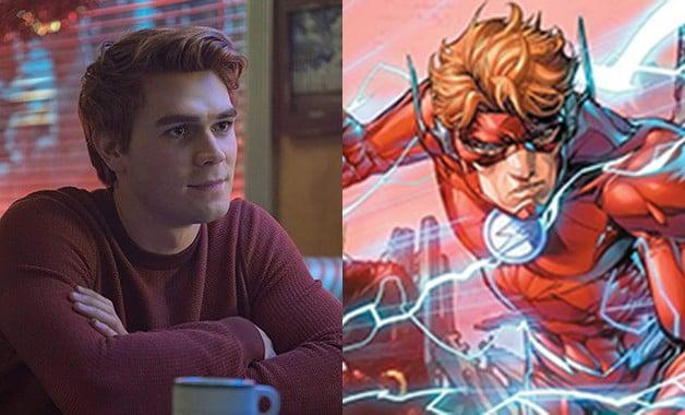 KJ Apa The Flash Wally West Ezra Miller