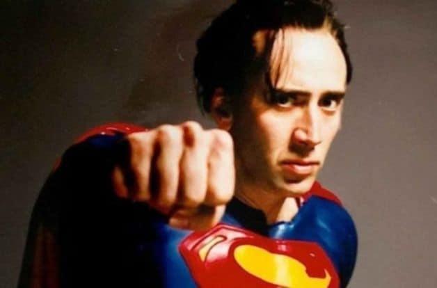 Nicholas Cage Henry Cavill Superman