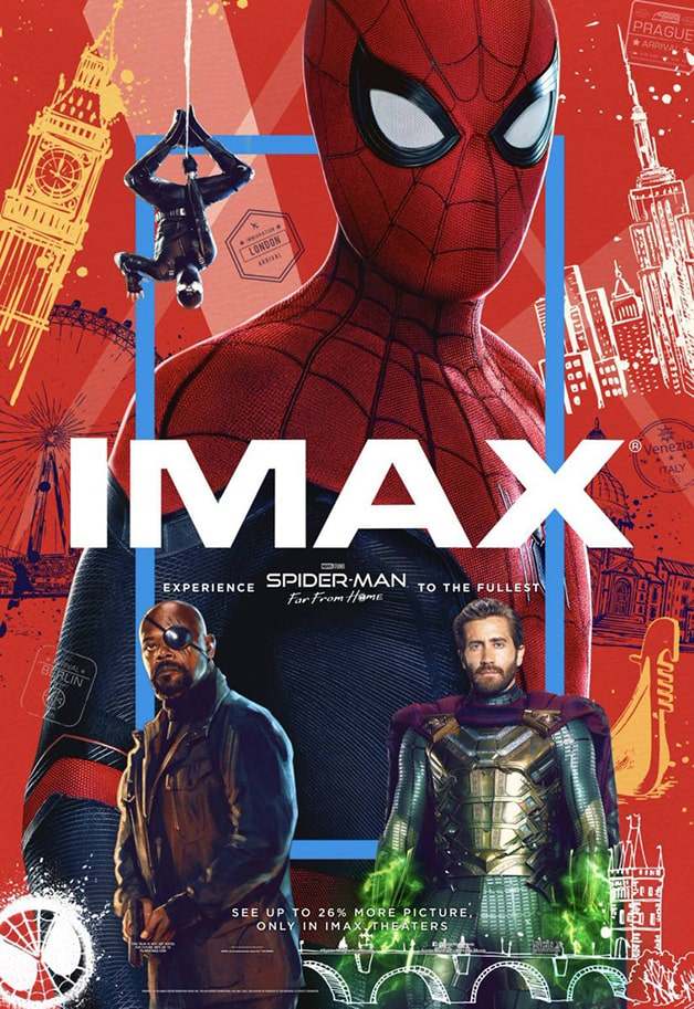 Spider-Man Far From Home Tom Holland IMAX
