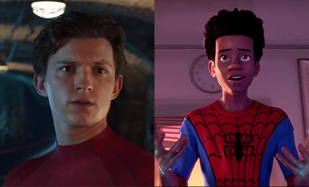 Spider-Man Spider-Verse Tom Holland