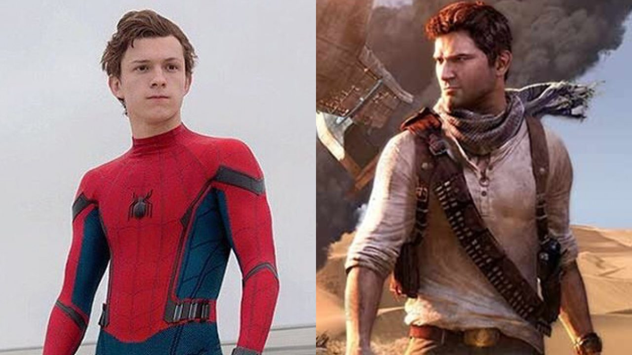 Tom Holland Becomes Nathan Drake In Amazing New Uncharted Image
