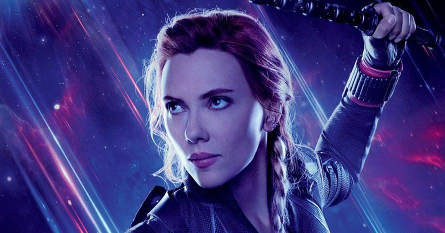 Avengers Endgame Scarlett Johansson Black Widow Marvel Studios D23 Disney Taskmaster