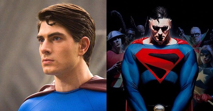 Brandon Routh Superman Crisis on Infinite Earths Kingdom Come Arrowverse