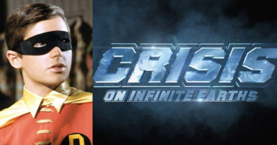 Burt Ward Batman Robin Crisis On Infinite Earths Arrowverse
