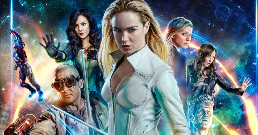 Legends of Tomorrow The CW Crisis On Infinite Earths Arrowverse