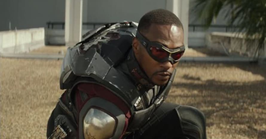 Falcon and Winter Soldier Anthony Mackie Captain America Civil War