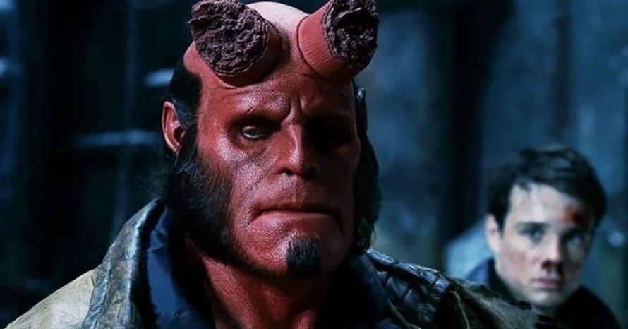 Hellboy Ron Perlman Guillermo Del Toro Mike Mignola