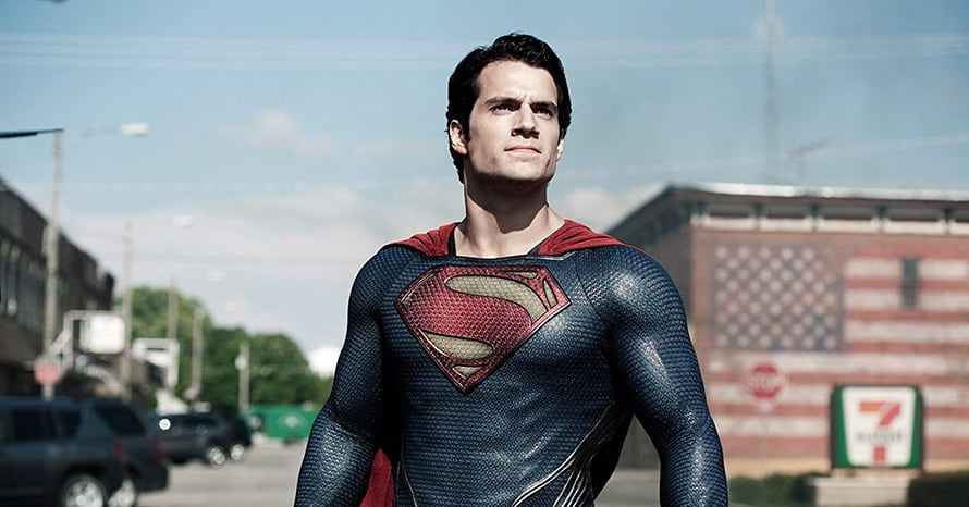 Henry Cavill Superman Man of Steel Justice League