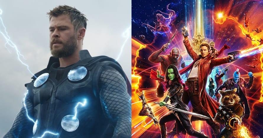 James Gunn Thor Guardians Of The Galaxy Chris Hemsworth