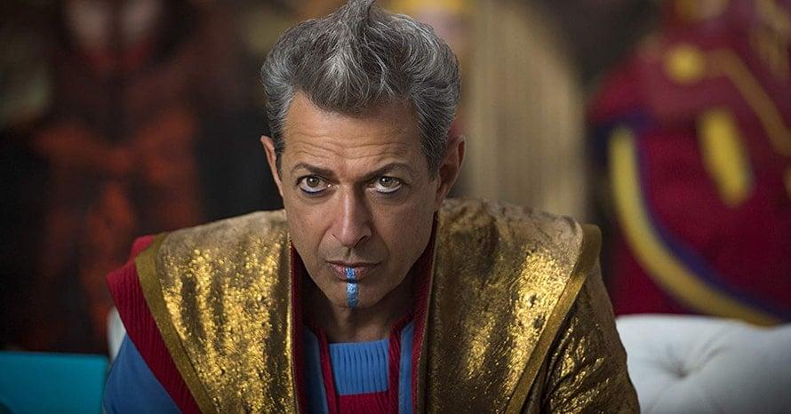 Jeff Goldblum Grandmaster Thor Love and Thunder