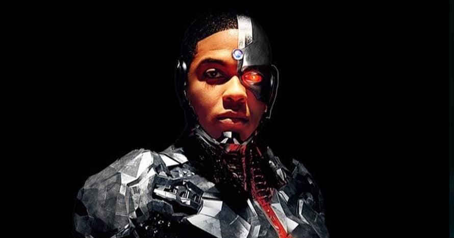 Justice League Zack Snyder Joe Morton Cyborg