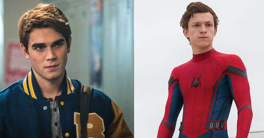 KJ Apa Riverdale Tom Holland Spider-Man