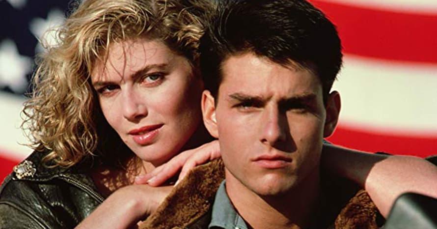 Kelly McGillis Tom Cruise Top Gun