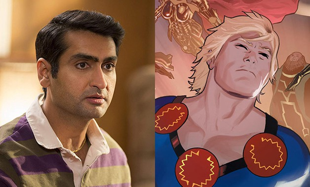 Kumail Nanjiani The Eternals Marvel