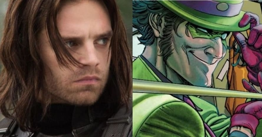 see sebastian stan as the riddler for robert pattinson u0026 39 s
