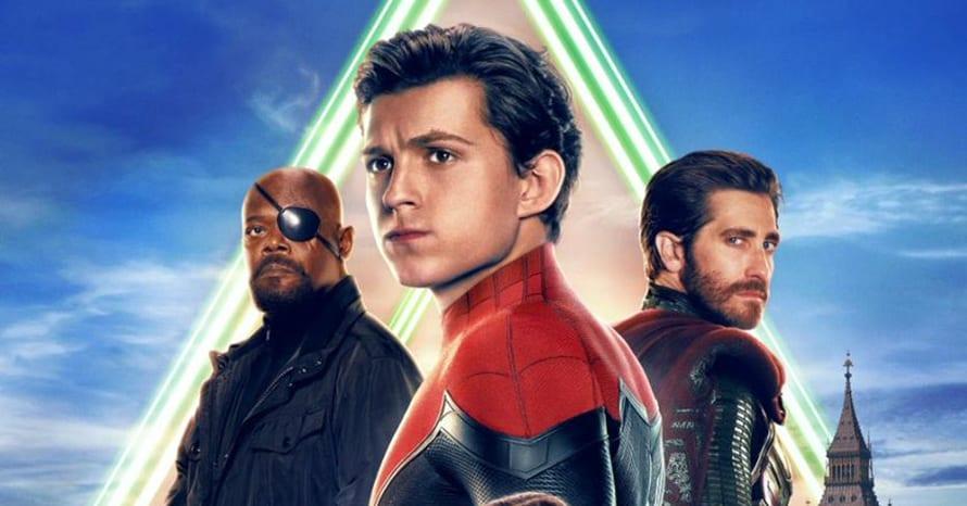 Spider-Man Far From Home Tom Holland Sony Marvel Jon Watts