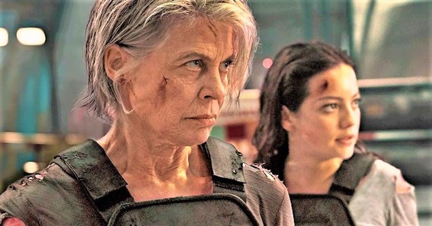 Terminator Dark Fate Comic-Con Linda Hamilton Sarah Connor