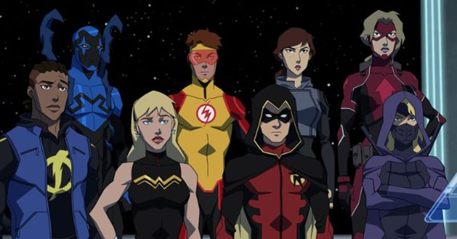 DC Young Justice Outsiders Darkseid Legion of Super-Heroes