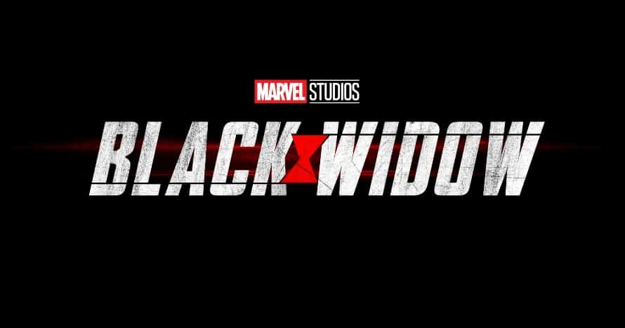 black Widow logo Scarlett Johansson David Harbour Red Guardian