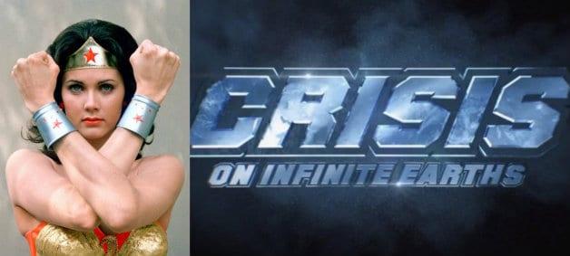 Lynda Carter Wonder Woman Crisis on Infinite Earths SDCC