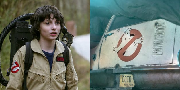 First Look At Stranger Things Finn Wolfhard In Ghostbusters