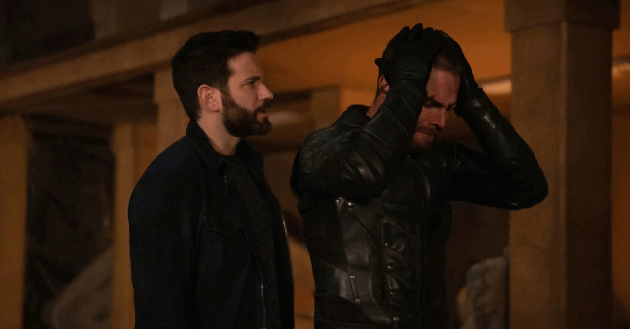 Arrow Stephen Amell Colin Donnell