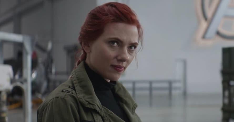 Avengers Endgame Scarlett Johansson Black Widow David Harbour Red Guardian ccxp