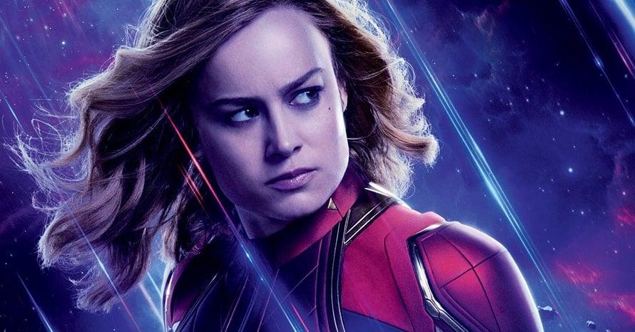 'Captain Marvel' & 'Avengers' Star Brie Larson Lifts Mjolnir In New Image