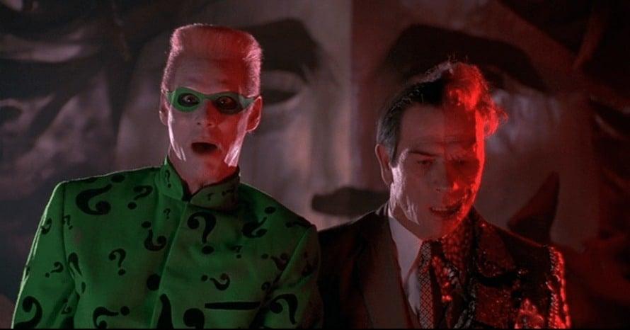 Batman Forever Tommy Lee Jones Jim Carrey