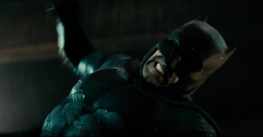 Batman v Superman Warehouse Scene