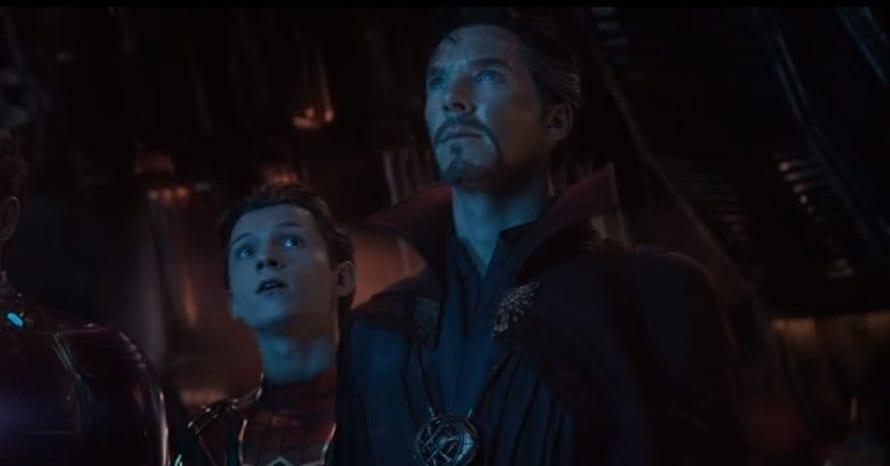 Benedict Cumberbatch Doctor Strange Tom Holland Spider-Man: No Way Home MCU Peter Parker