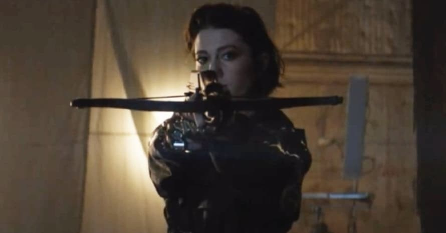 See Mary Elizabeth Winstead In Accurate Huntress Suit In Birds Of Prey