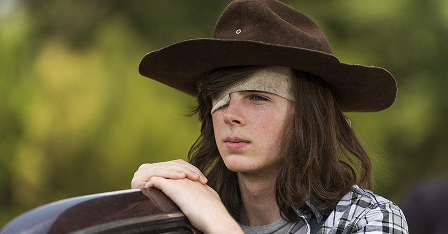 Chandler Riggs Andrew Lincoln The Walking Dead
